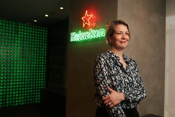 Nelcina Tropardi, Vice President Corporate Affairs and Sustainability at Heineken Brasil poses for a photograph during an interview with Reuters about the company's wind farm in Sao Paulo