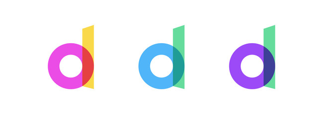 Developer Logo. Binary Code Icon. Software Development, API, Technology Conference Vector Logo Concept.