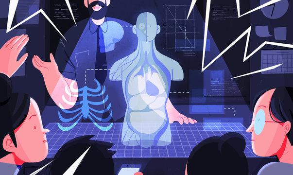 Hologram Classroom