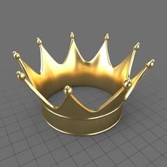 Gold king crown 1
