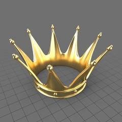 Gold king crown 2
