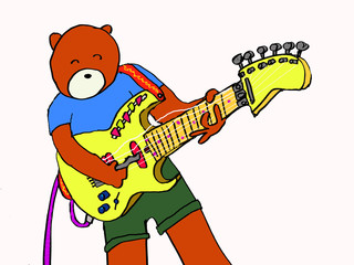 teddy guitarist