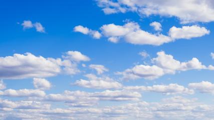 White cloud in the blue sky Fototapete