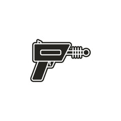 blaster, shotgun, space icon. Simple glyph, flat vector of Space icons for UI and UX, website or mobile application