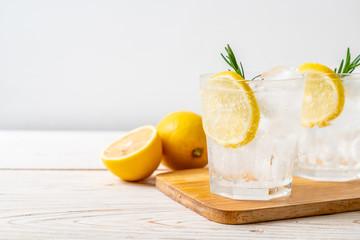 ice lemonade soda