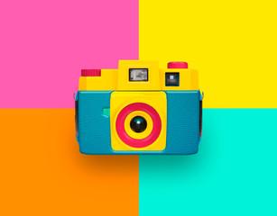 Farbige Kamera