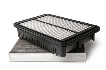 Dirty air filters for car