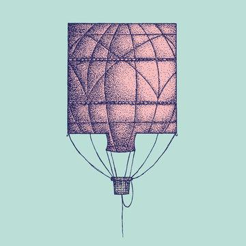Square Hot Air Balloon