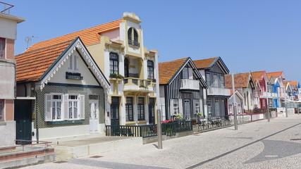 costa nova beach (aveiro portugal)