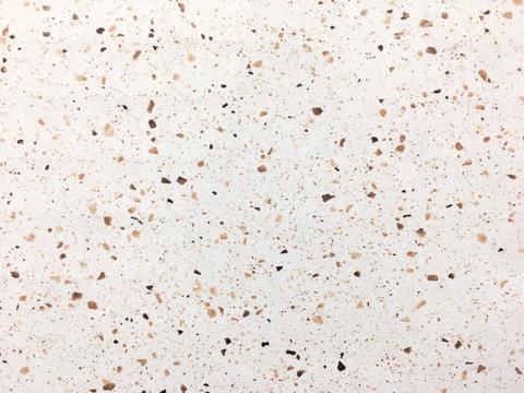 Terrazzo floor background, white stone background, Terrazzo interior texture background