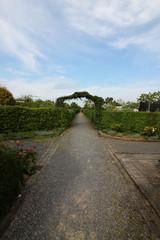 Der Weg zu Kleingärten in Osnabrück
