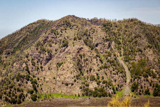 hills in the desert