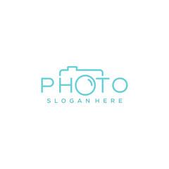 simple photography vector logo design