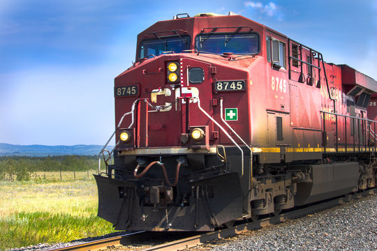 Canadian Red Train
