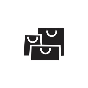 bag vector icon, flat design best vector icon