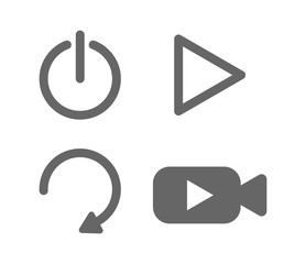 video button set
