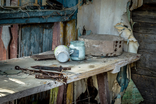 Abandoned little house in Belarus Chernobyl exclusion zone, recently opened for the public from april 2019.