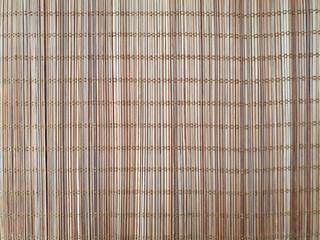 대나무를 엮어 만든 대나무 묶음, 대나무 패턴, 대나무 식탁보, 대누무로 만든 깔개