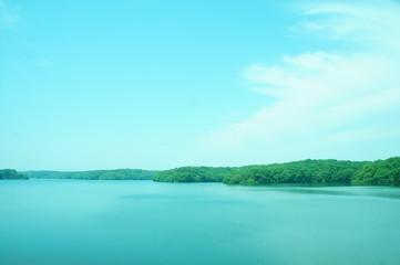 湖 狭山湖