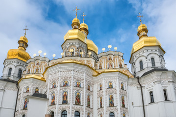 Wall Murals Kiev Orthodox christian church in Kiev Pechersk Lavra Monastery, Kyiv