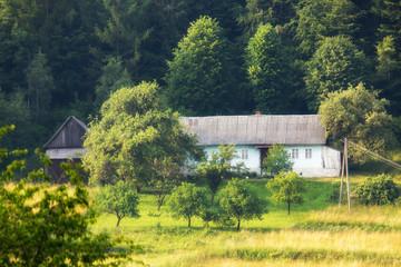 Fototapeta Beskid Wyspowy - Góry Karpaty obraz