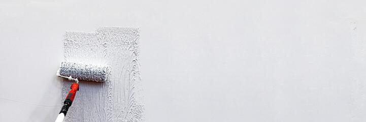 Obraz Wand, renovieren, Panorama, Banner - fototapety do salonu