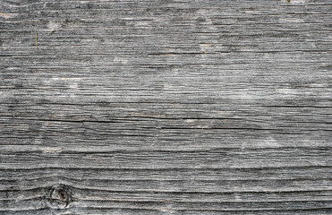 Aged pine wood board close up shot, image for background.