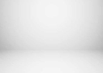 Wall Mural - Empty gray studio room, used as background for display your products