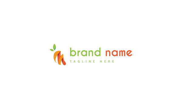 Fresh fruit 4 abstarct color vector logo design