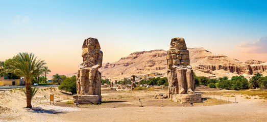 The Colossi of Memnon Fototapete