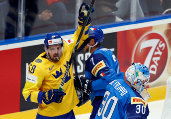 Ice Hockey World Championships - Group B - Italy v Sweden
