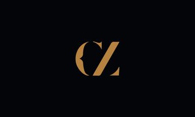Fototapeta CZ logo design template vector illustration obraz