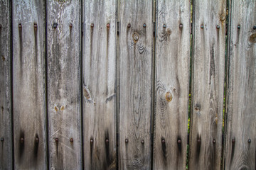 Wooden background - close up of wooden fence
