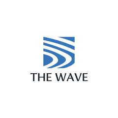 sun wave icon vector illustration design logo