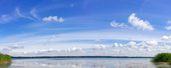 Panoramic Lakescape around Berlin, Brandenburg, Germany