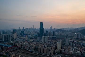 Fototapeta shenzhen city