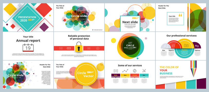 Abstract white, yellow, slides. Brochure cover design. Fancy info banner frame. Creative set of infographic elements. Title sheet model set. Modern vector. Presentation templates, corporate design.