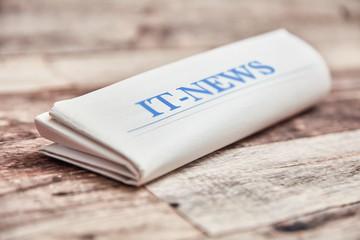 IT News Zeitung mit Technologie Nachrichten