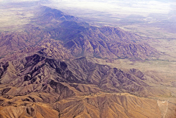 Aerial image of Cochise Stronghold in Dragoon Mountains in Southern Arizona