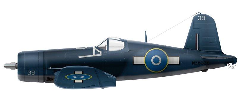 F4U-1A Vought Corsair - RNZAF - 22 Sqn 1944