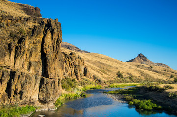 USA, Oregon, John Day Fossil Beds National Monument, John Day River