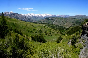 Hiking in the Wasatch Mountains of Utah