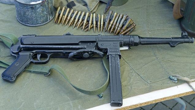 the old submachine gun