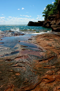 Apostle Islands in Northern Wisconsin on Lake Superior