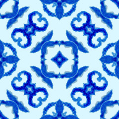 15b65bde Ethnic seamless pattern. Ethnic boho ornament. Abstract batik tie dyed  fabric, Shibori dyeing