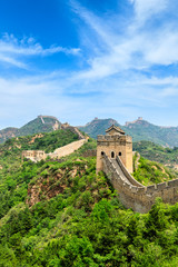 Foto auf Acrylglas Chinesische Mauer The Great Wall of China at Jinshanling