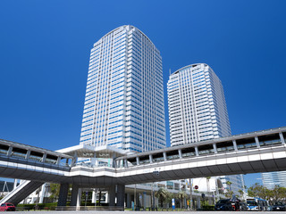 Fototapete - 幕張新都心のオフィスビル街