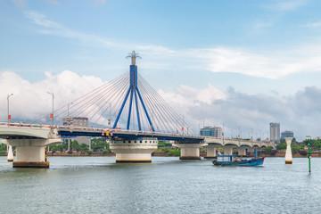 The Han River Bridge (Cau Song Han), Da Nang, Vietnam