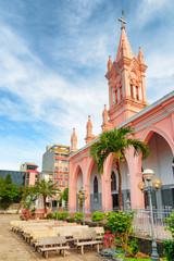 Gorgeous view of Da Nang Cathedral in Danang, Vietnam