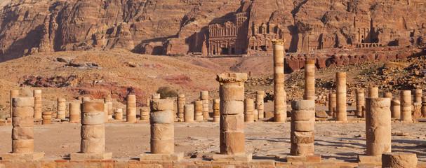 Templo Griego, Petra, Jordania, Oriente Medio